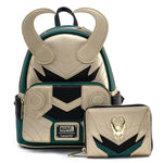Loungefly X Marvel Loki Classic Cosplay Mini Backpack
