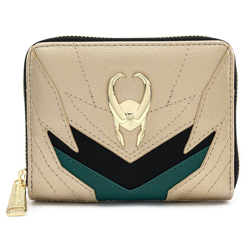 Loungefly X Marvel Loki Classic Cosplay Zip Around Wallet