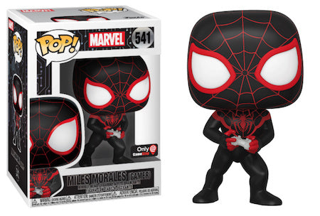 Funko Pop! 541 - Marvel Spider Man Gamer Miles Morales Exclusive
