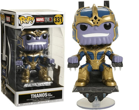 Funko Pop! 331 -  Marvel: Thanos on Throne Collectible Figure, Multicolor