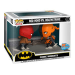 Funko Pop! 336 - Dc Comic Red Hood Vs. Deathstroke Comic Moment Pop! Vinyl 2-pack - SDCC 2020 Previews Exclusive