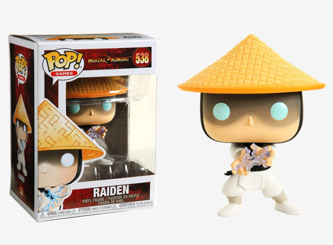 Funko Pop! 538 - Pop! Games: Mortal Kombat Raiden