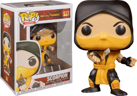Funko Pop! Games 537 - Mortal Kombat - Scorpion