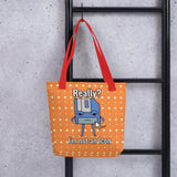 I'm Not an Icon Tote bag