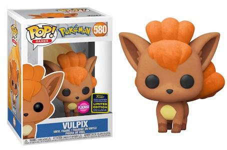 Funko Pop! 580 - Vulpix Flocked SDCC 2020