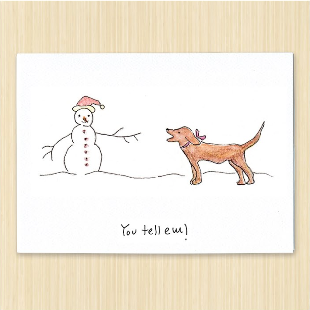 Funny Art Cards For Dog Lovers
