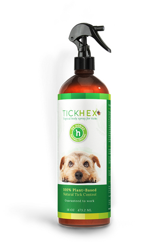 TickHex® Spray - Natural tick control for dogs