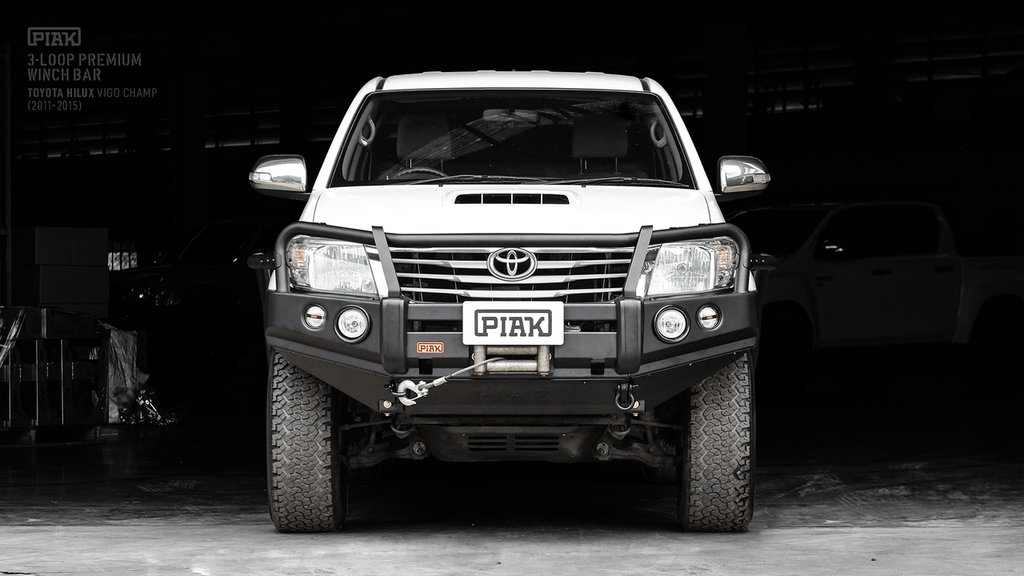 Piak 3 Loop Premium Winch Bar For Toyota Hilux 2011-2015