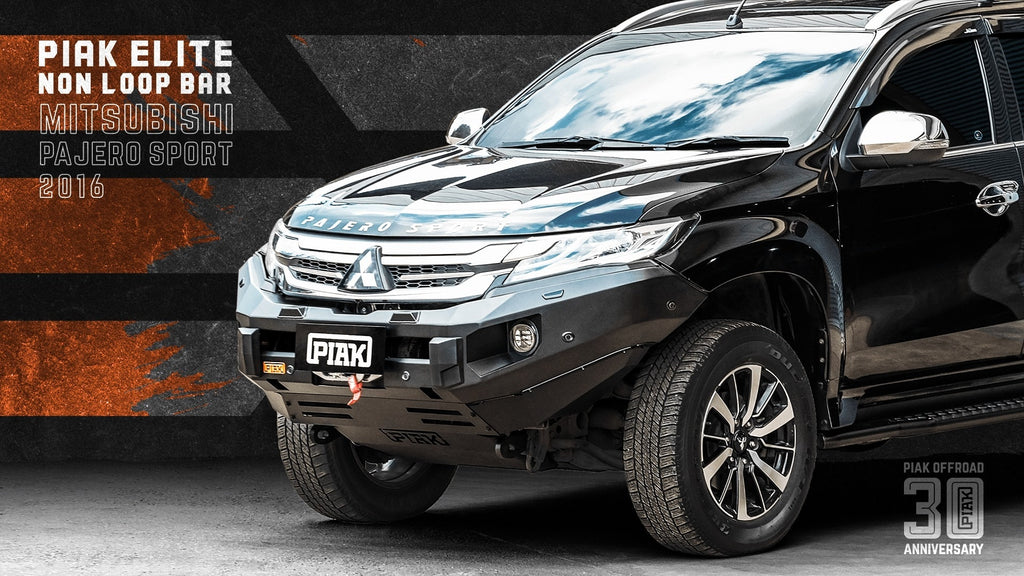 Piak ELITE Non Loop Winch Bar For Mitsubishi Pajero Sport QE 2016+