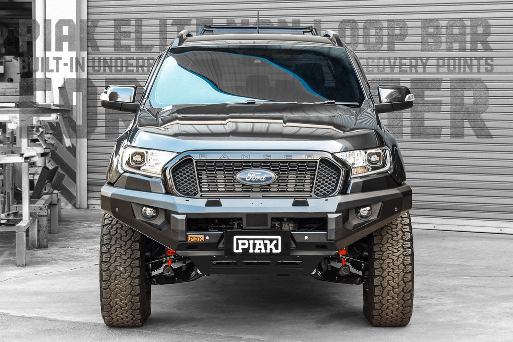 Piak Non Loop Premium Winch Bar Ford Ranger PX3 2018-Current