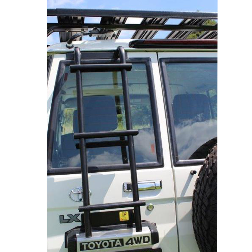 Eezi Awn K9 Roof Rack For Toyota Land Cruiser 78 (Troopy) Ladder View
