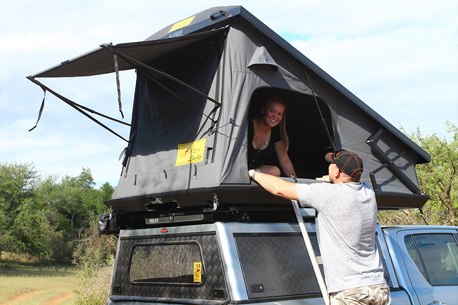 Eezi-Awn Stealth Hardshell Roof Top Tent lifestyle photo