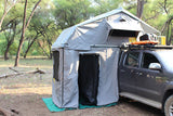 Eezi-Awn-T-Top-Xclusiv-Roof Top Tent Gray Color