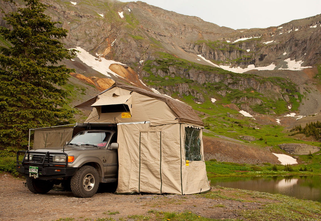 Eezi-Awn-T-Top-Xclusiv-Roof Top Tent View