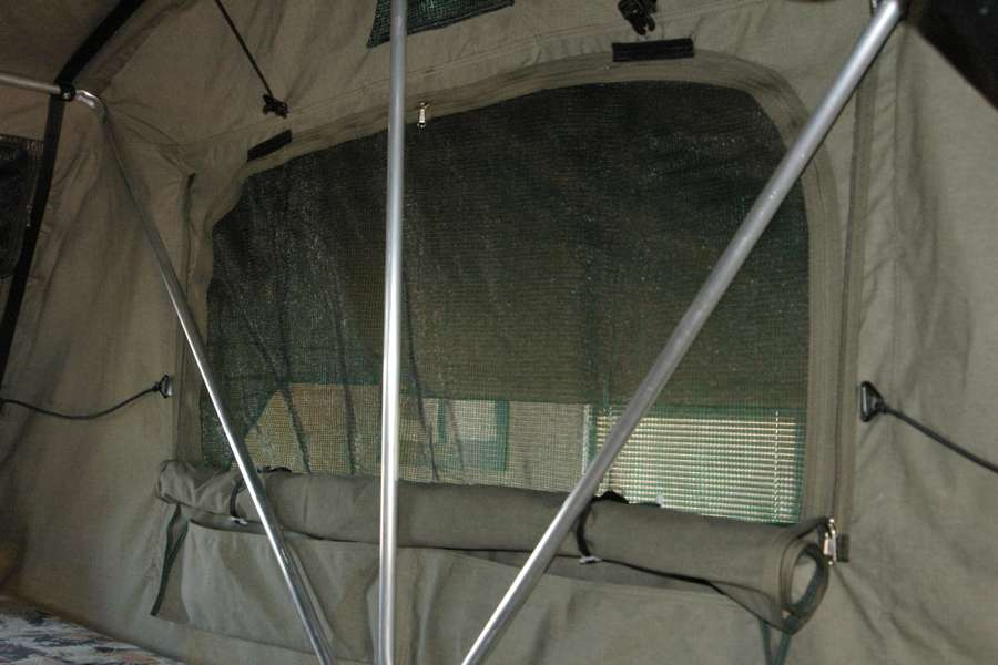 Eezi-Awn-T-Top-Xclusiv-Roof Top Tent Interior Window View