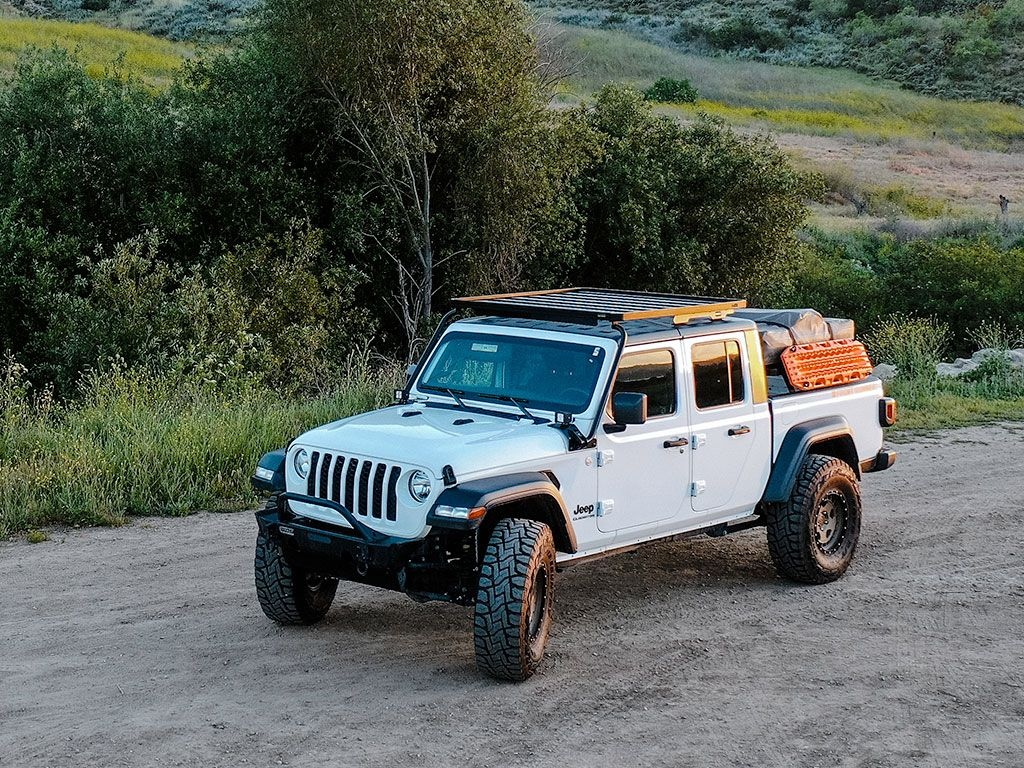Front Runner Slimline II Roof Rack For Jeep Gladiator JT 2019-Current Profile