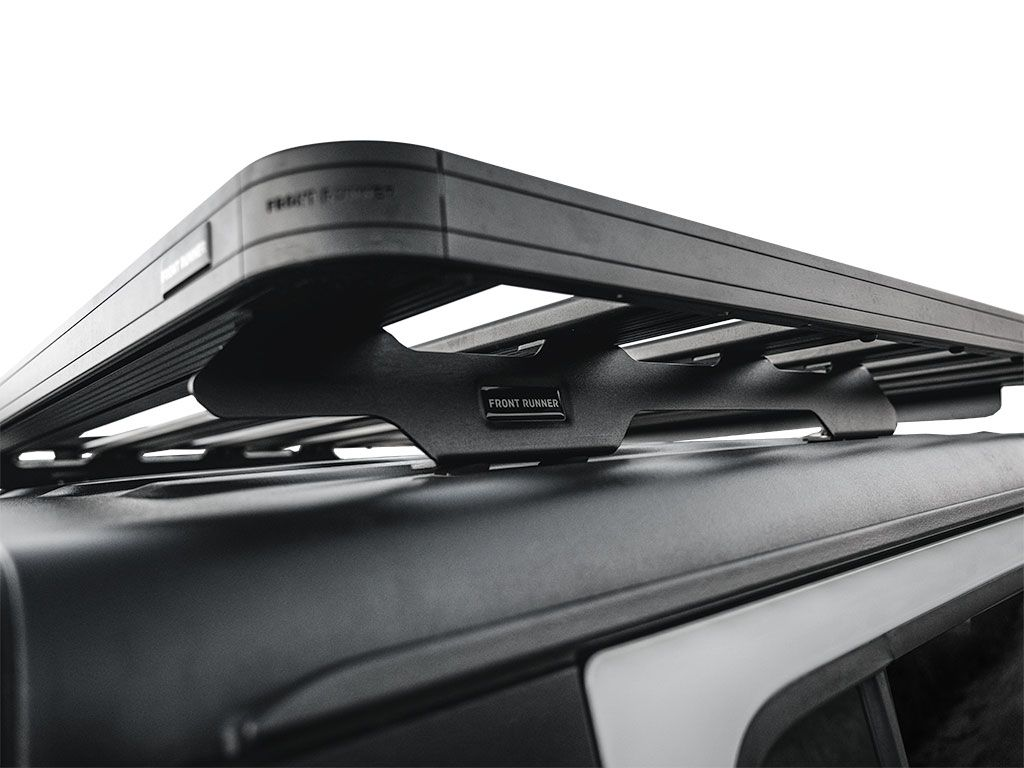 Front Runner Slimline II Roof Rack For Jeep Gladiator JT 2019-Current foot rail