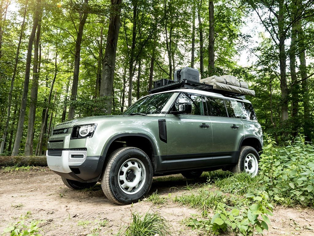 LAND ROVER NEW DEFENDER 110 SLIMLINE II ROOF RACK BY FRONT RUNNER OUTFITTERS