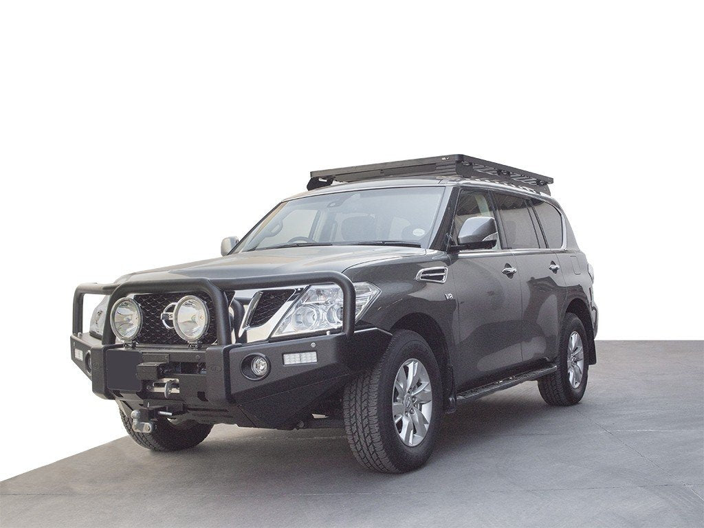 Nissan Patrol/Armada with Slimline II Rack by Front Runner Outfitters