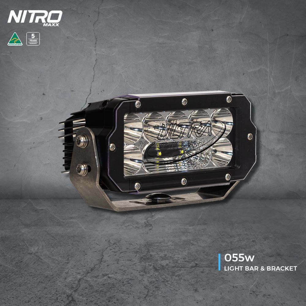"Ultra Vision NITRO Maxxx 55W 8"" LED Light Bar"
