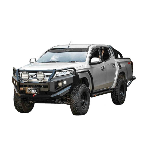 Piak 3 Loop Premium Winch Bar With Sump Guard For Mitsubishi Triton MR 2019 - On