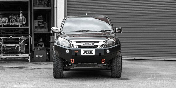 Piak Non Loop Premium Winch Bar For Isuzu MUX 2012-2017