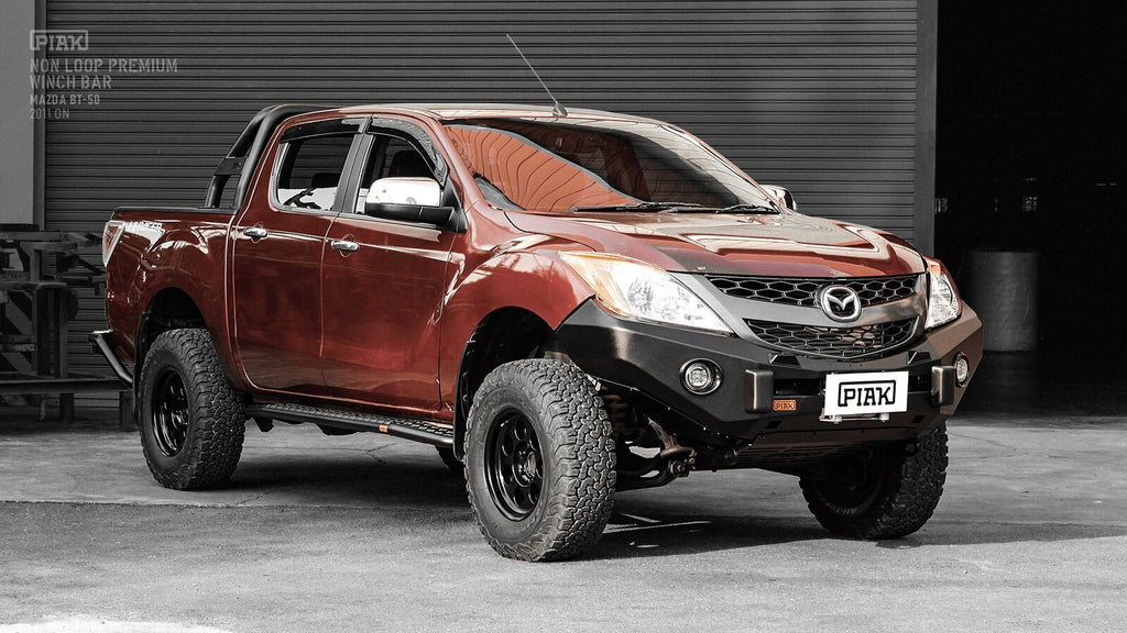 Piak Non Loop Premium Winch Bar Mazda BT-50 2011-Current