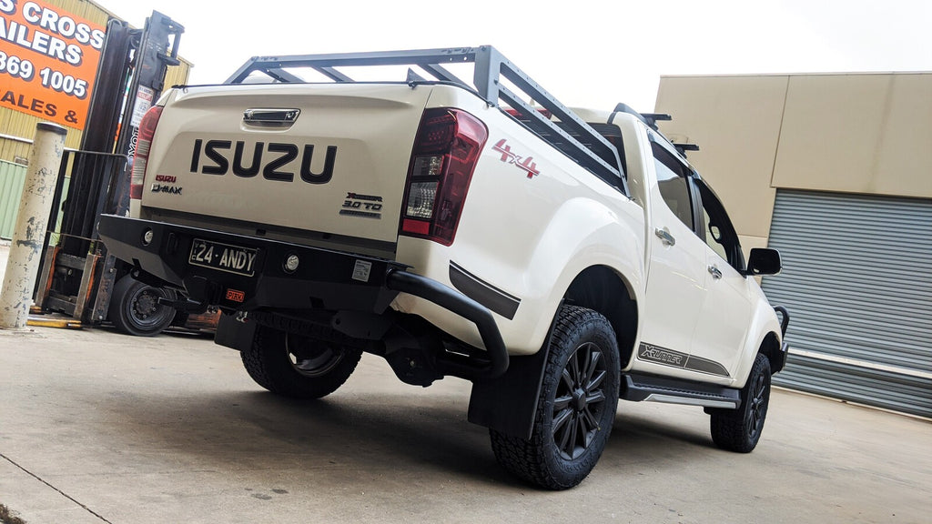Piak Rear Step Tow Bar For Isuzu DMax And RG Colorado 2012+