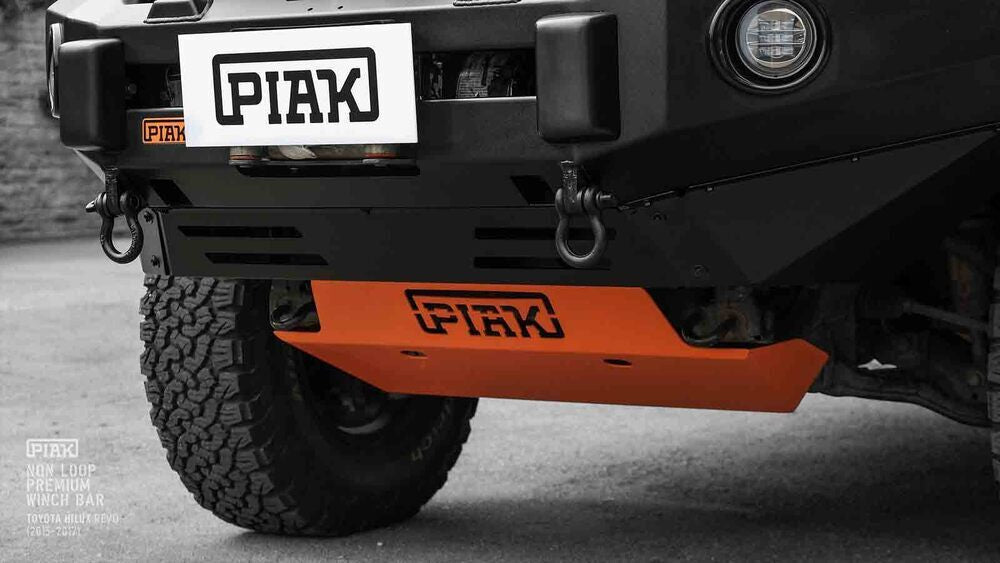 Piak Underbody Protection Plate In Orange For Toyota Hilux 2005-2015