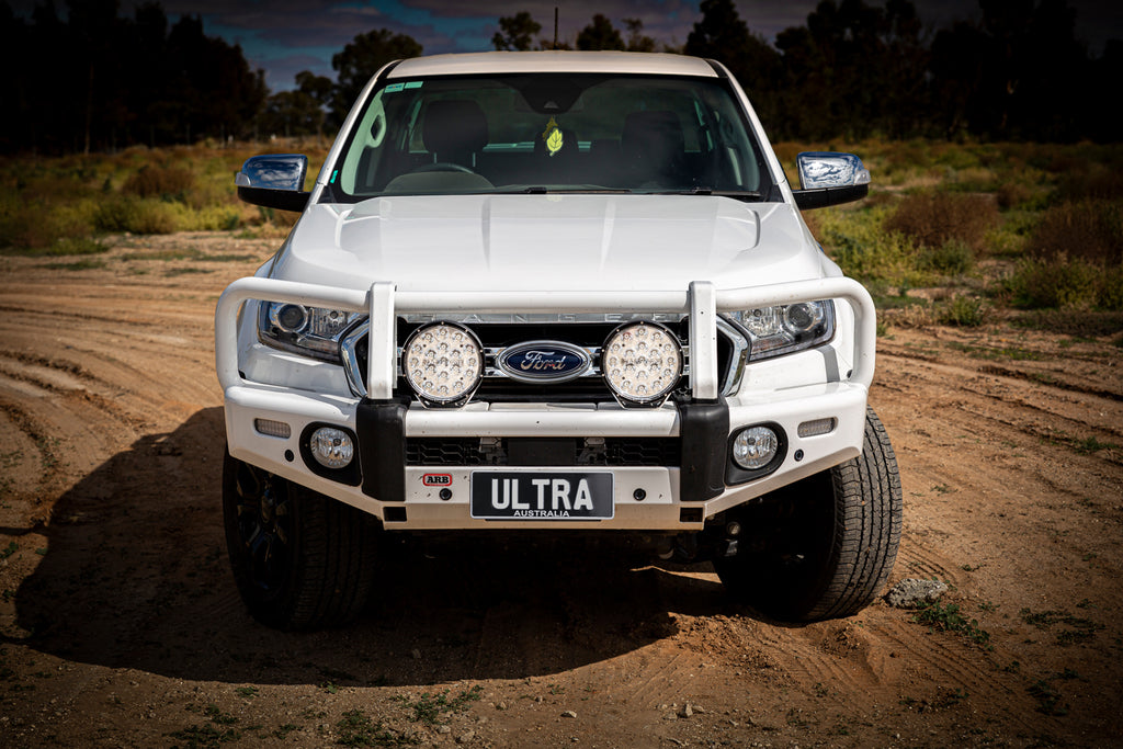 Ultra Vision Raptor 110W Driving Light on a ford ranger