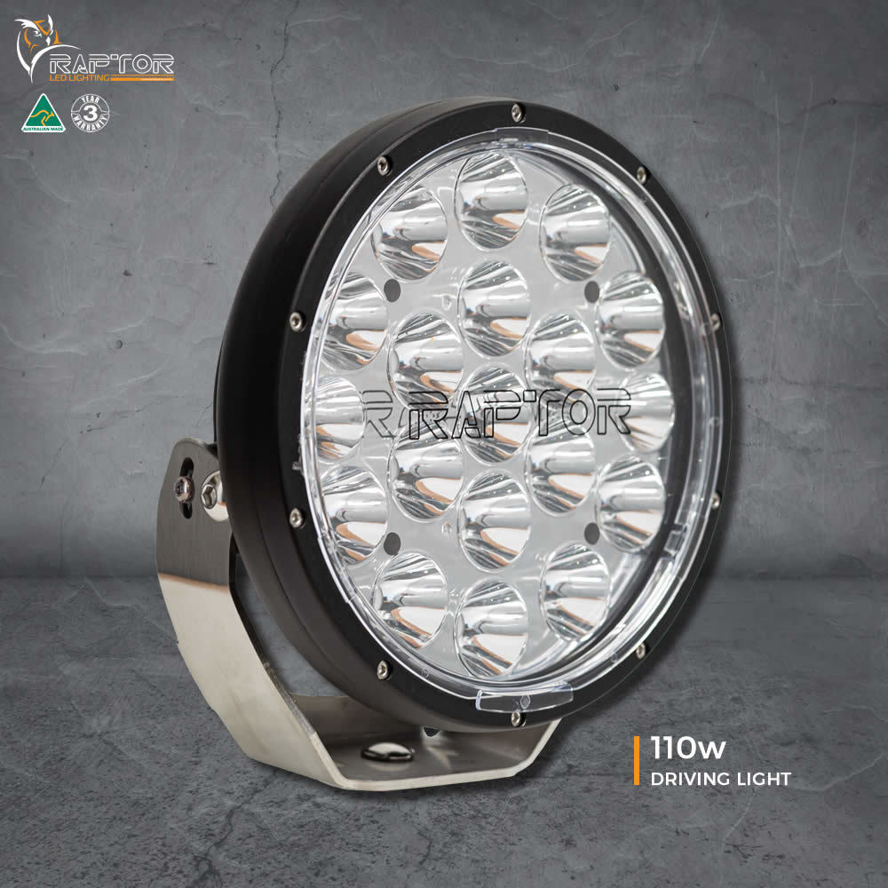 Ultra Vision Raptor 110W Driving Light