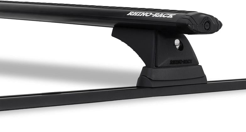 Rhino-Rack Vortex RCH Trackmount 2 Bar Roof Rack Black