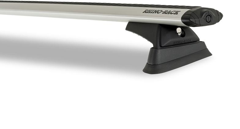 Rhino-Rack Vortex RCL 2 Bar Roof Rack Silver