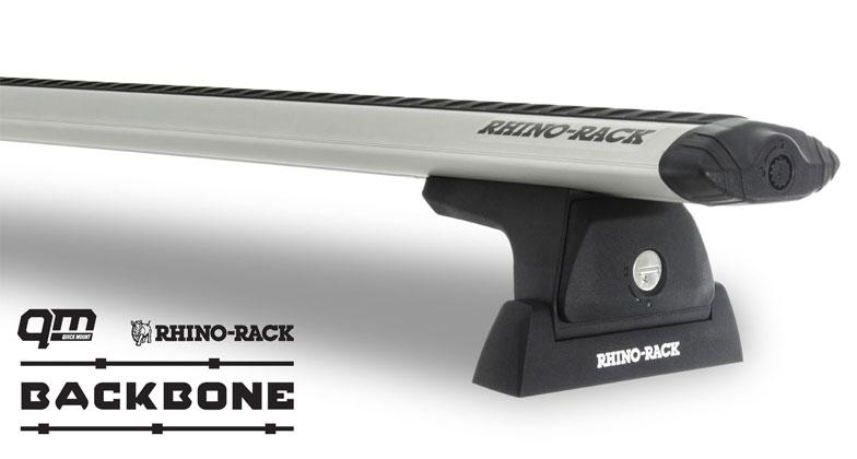 Rhino-Rack Vortex RLT600 2 Bar Roof Rack Silver