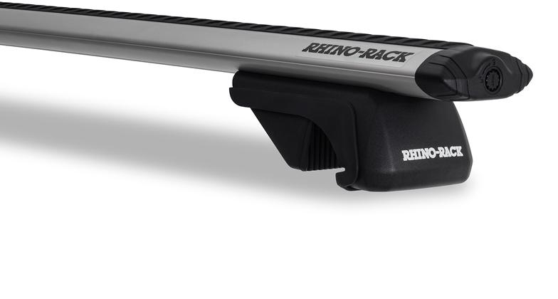 Rhino-Rack Vortex SX Black & Silver 2 Bar Roof Rack Cross Bars Mercedes Jeep Ford Nissan Volvo Suzuki KIA