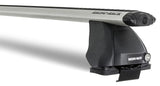 Vortex 2500 Silver 1 Bar Roof Rack for the Nissan Frontier D22 2000 to 2004