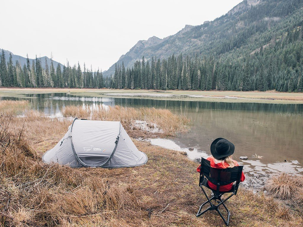 Flip Top Ground Tent - Pops Open in Seconds - by Front Runner Outfitters