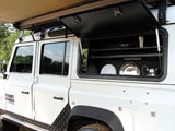 Front Runner Land Rover DEFENDER Gullwing Window - Aluminum
