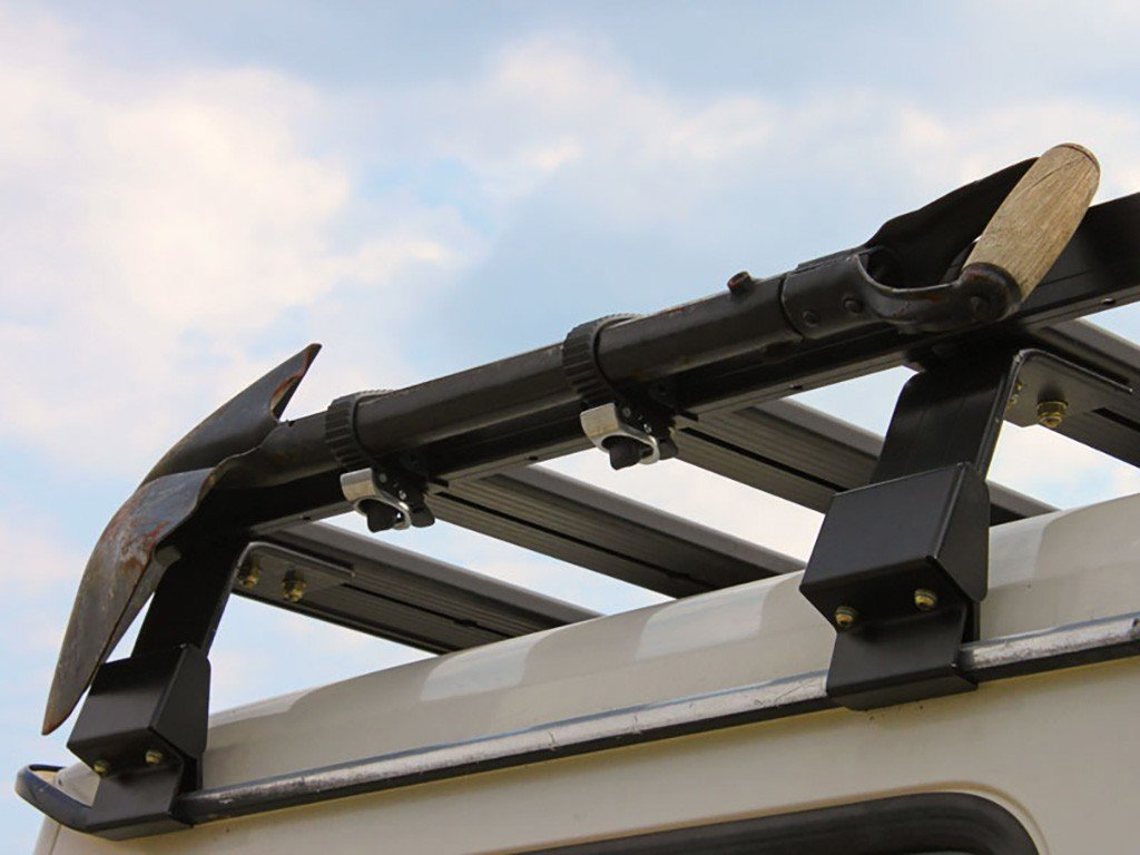 Ratcheting Spade/Shovel Mount - For Front Runner Roof Racks - by Front Runner Outfitters