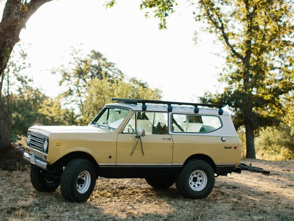 Slimline II Roof Rack Kit For International Scout II (1971-1980) - by Front Runner Outfitters