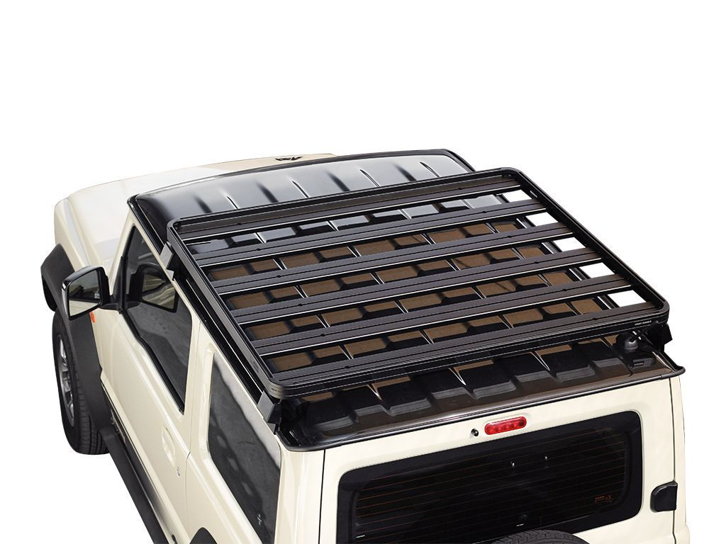 top view of Front Runner Slimline II Roof Rack For Suzuki Jimny 2018-Current