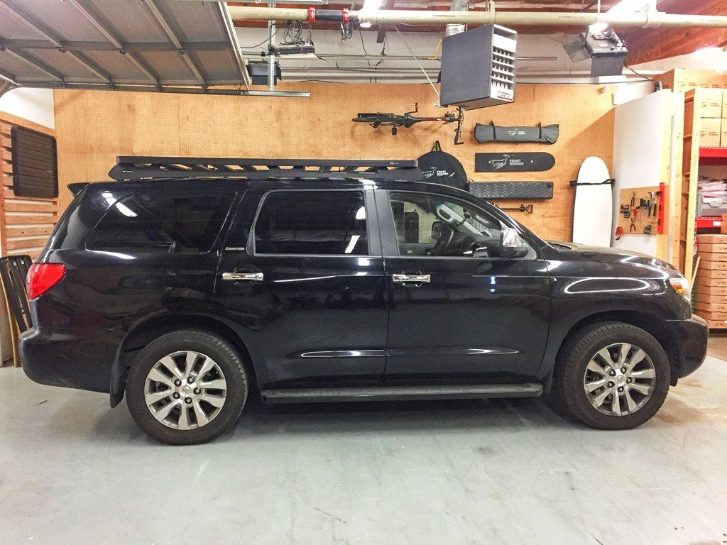 Slimline II Roof Rack Kit For Toyota SEQUOIA (2008-Current) - No Drilling Required - by Front Runner Outfitters
