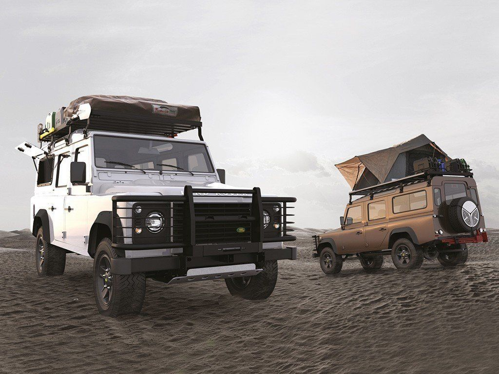 Slimline II Roof Rack Kit/Tall For Land Rover DEFENDER 90 - by Front Runner Outfitters