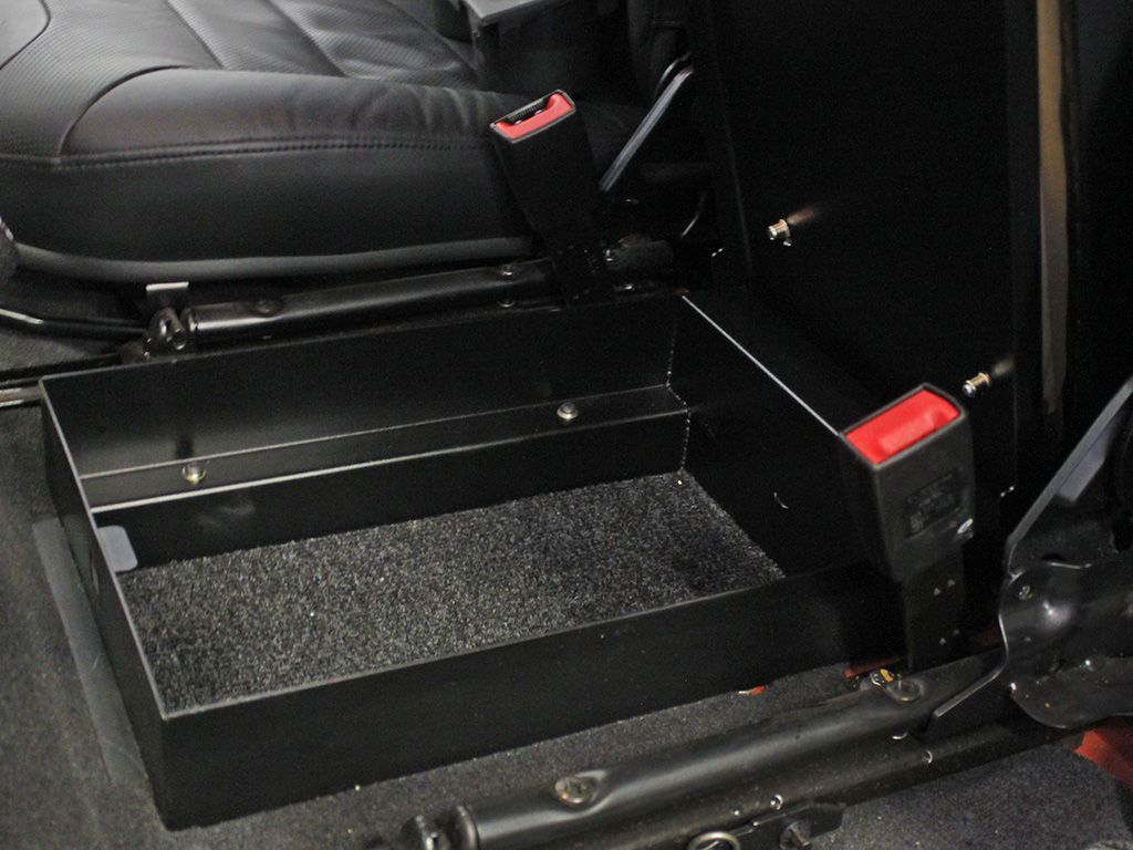 Front Runner Under Console Safe For Land Rover Defender