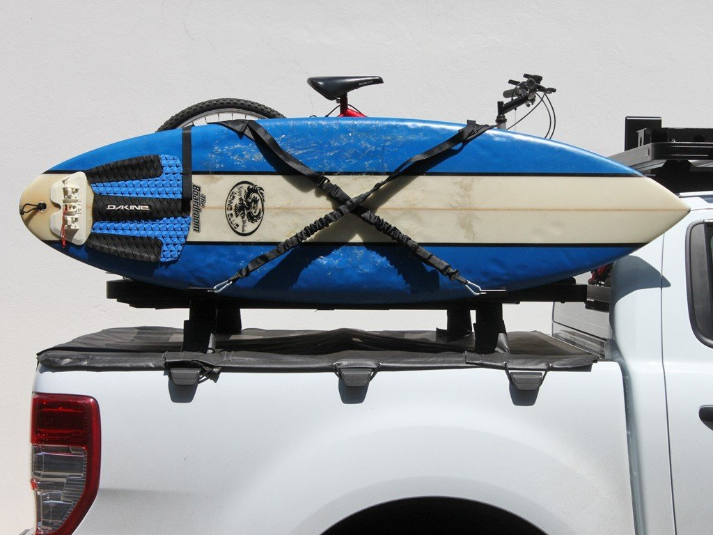 Vertical Surfboard Carrier - For Slimline II Roof Rack - by Front Runner Outfitters
