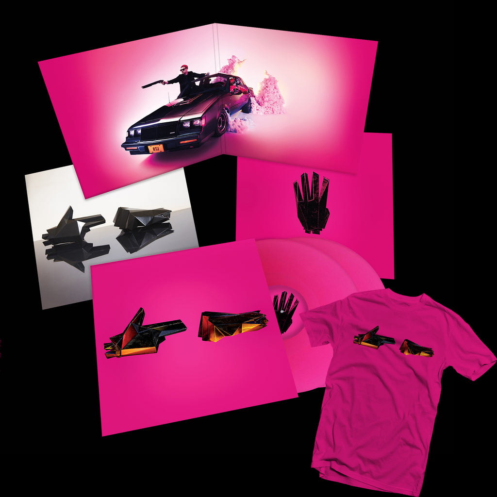 RTJ4: 2xLP BUNDLE + DIGITAL ALBUM (PINK T-SHIRT) - PREORDER