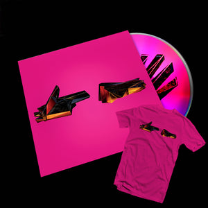 RTJ4: CD BUNDLE + DIGITAL ALBUM (PINK T-SHIRT) - PREORDER
