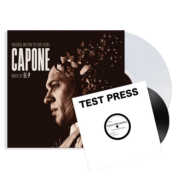 CAPONE SOUNDTRACK - SIGNED TEST PRESS 2XLP - PREORDER