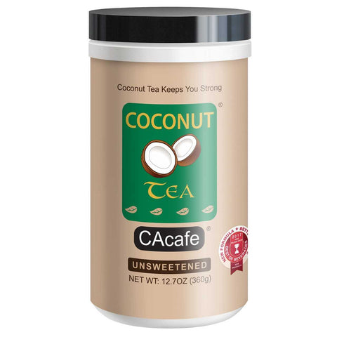 CAcafe Unsweetened Coconut Tea 12.7oz