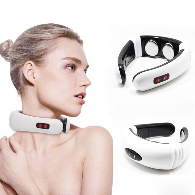 ELECTRIC BACK AND NECK MASSAGER - Life Health Love